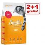 2 + 1 på köpet! 3 x 1 kg Smilla torrfoder - Urinary