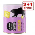 2 + 1 på köpet! Cosma Snackies Maxi Tubes Maxi Tube: Tonfisk 3 x 150 g