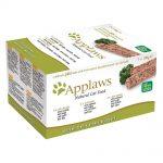 Applaws Cat Paté kattmat - spannmålsfritt - 7 x 100 g Kyckling, lamm & lax