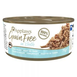 Applaws Grainfree in Broth 6 x 70 g - Tonfiskfilé