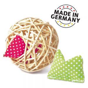 Aumüller Mini-Baldi Rattan Ball kattleksak - 1 st