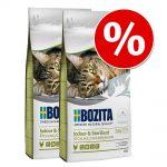 Ekonomipack: 2 x 10 kg Bozita Feline kattfoder till lågpris! Indoor & Sterilised 2 x 10 kg