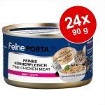 Ekonomipack: Feline Porta 21 24 x 90 g - Kyckling