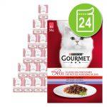 Ekonomipack: Gourmet Mon Petit 24 x 50 g - Duetti Fisk