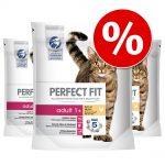 Ekonomipack: Perfect Fit kattfoder till sparpris! - Sterile Senior 7+ Kyckling (4 x 1,4 kg)