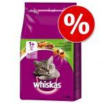 Ekonomipack: Whiskas torrfoder - 1+ Lamm (2 x 3,8 kg)