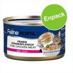 Feline Porta 21 kattfoder 1 x 90 g - Kyckling med aloe - spannmålsfritt