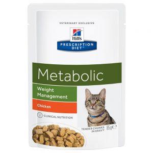 Hill's Prescription Diet Feline Metabolic Chicken - 24 x 85 g