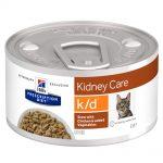 Hill's Prescription Diet k/d Kidney Care Stew med kyckling kattmat - 12 x 82 g