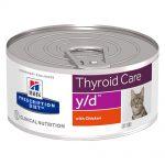 Hill's Prescription Diet y/d Thyroid Care - Ekonomipack: 24 x 156 g