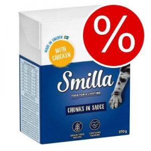 Kanonpris! 24 x 370/380 g Smilla Chunks i sås/gelé I sås: Kycklinglever 24 x 370 g