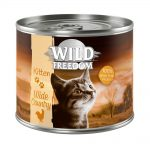 Kanonpris! Wild Freedom Kitten 6 x 200 g Golden Valley - Rabbit & Chicken