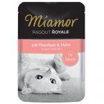 Miamor Ragout Royale i sås 22 x 100 g - Kalkon & vilt