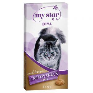 My Star is a Diva - Malt Creamy Snack - 8 x 15 g