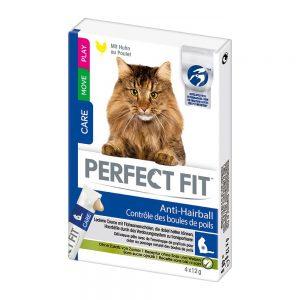 Perfect Fit Anti-Hairball kattgodis - 4 x 12 g
