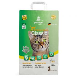 Professional Classic kattsand med luktabsorberare 14 kg