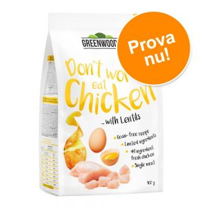 Prova-på-erbjudande: Greenwoods 400 g Turkey with Sweet Potato, Peas & Pumpkin