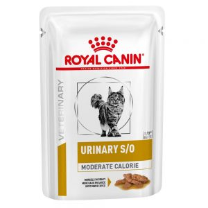 Royal Canin Urinary S/O Moderate Calorie - Veterinary Diet 24 x 85 g (bitar i sås)