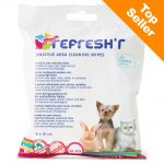 Savic Refresh'r Wipes Sensitive våtservetter - 20 st