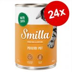 Smilla Pot 24 x 400 / 800 g till kanonpris! Poultry Pot Fågelkött & anka 24 x 400 g