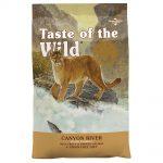 Taste of the Wild - Canyon River Feline - spannmålsfritt Ekonomipack: 2 x 6,6 kg