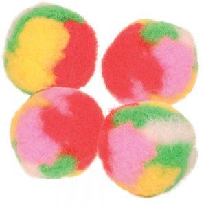 Trixie Pompom bollar - 4 st