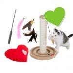 zoolove set: 3 zoolove kattleksaker till sparpris! - Set med 3 zoolove-leksaker