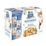 Brit Care Cat Adult Bitar i Gelé Multipack 12x85 g