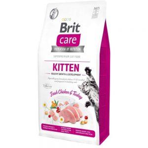 Brit Care Cat Grain Free Kitten Healthy Growth & Development (400 g)
