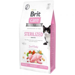 Brit Care Cat Grain Free Sterilized Sensitive (2 kg)