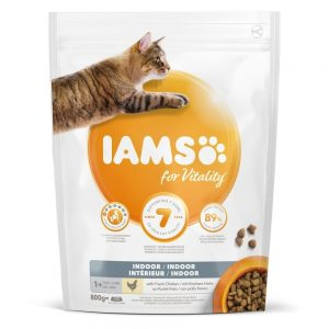 Iams for Vitality Cat Adult Indoor (800 g)