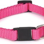 Basic Nylon Katt Halsband - Rosa