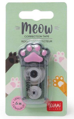 Meow correction tape