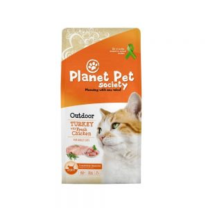 Planet Pet Society Cat Outdoor Turkey with Fresh Chicken (7 kg)