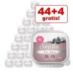 44+4 på köpet! 48 x 100 g Smilla Fine Menu Kalkon & lamm