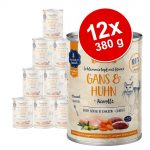 Ekonomipack: Sanabelle All Meat 12 x 380 g - Gås & kyckling