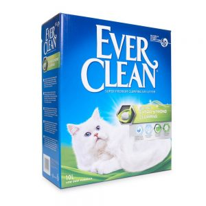 Ever Clean® Extra Strong Clumping - Scented kattsand - Ekonomipack: 2 x 10 l