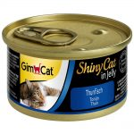 GimCat ShinyCat Jelly 6 x 70 g - Tonfisk