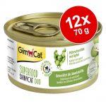 GimCat Superfood ShinyCat Duo 12 x 70 g - Mixpaket (4 sorter)