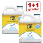 1 + 1 på köpet! 2 x Purina Tidy Cats Lightweight Ocean Freshness - 2 x 20 l