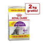10 + 2 kg på köpet! 12 kg Royal Canin kattfoder Savour Exigent (10 kg + 2 kg på köpet!)