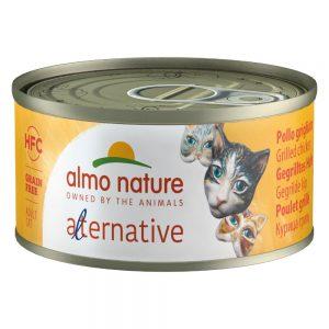 Almo Nature HFC Alternative Cat 6 x 70 g Skinka & parmesan