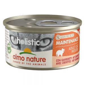 Almo Nature Holistic Maintenance 6 x 85 g - Med fet fisk