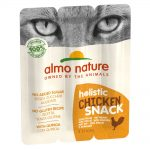Almo Nature Holistic Snack Cat Ekonomipack: 3 x 15 g Tuna