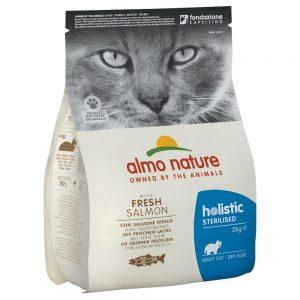 Almo Nature Holistic Sterilised Salmon & Rice - 2 kg