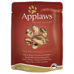 Applaws Cat Pouches kattmat 12 x 70 g - Kyckling & vildris