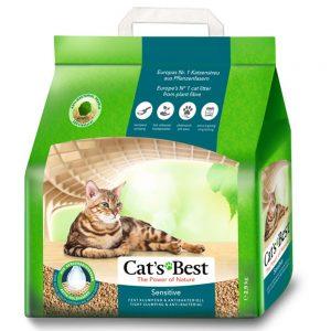 Cat's Best Sensitive kattsand - Ekonomipack: 2 x 20 l (14,4 kg)