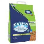 Catsan Naturelle Plus kattsand - Ekonomipack: 2 x 20 l