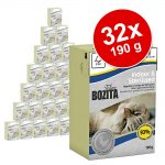 Ekonomipack: Bozita Feline Funktion 32 x 190 g - Indoor & Sterilised