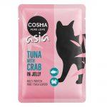 Ekonomipack: Cosma Asia portionspåsar 48 x 100 g Tonfisk & nötkött